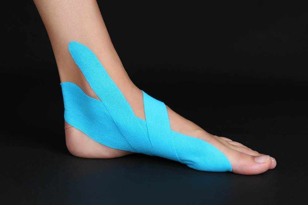 plantar fasciitis taping methods