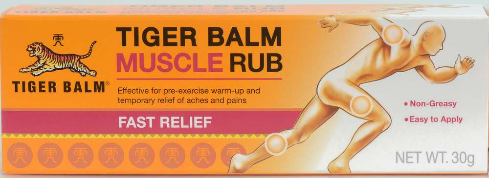 tiger balm for plantar fasciitis